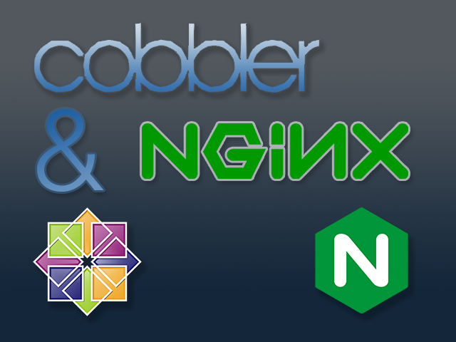 Cobbler on CentOS 7 with NGINX and https